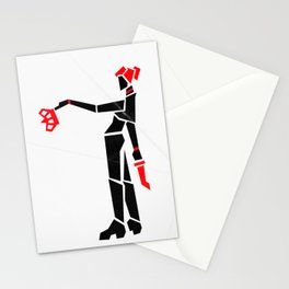 Queen of Hell Stationery Cards