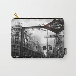 Gran Via-Madrid Carry-All Pouch