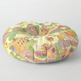 Slowtown Floor Pillow