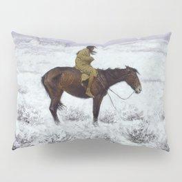 Frederic Remington - The Herd Boy, 1910 Pillow Sham