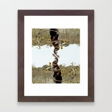 aluh hula Framed Art Print
