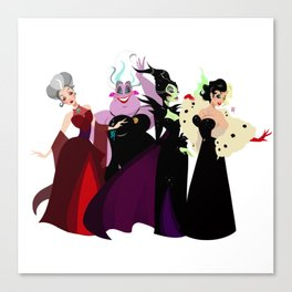 Bad Witches Canvas Print