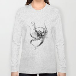 Giant Octopus Long Sleeve T-shirt