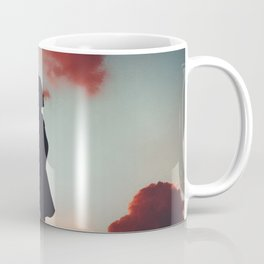 pink cloud girl Coffee Mug