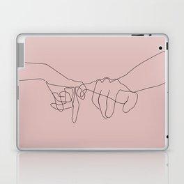 Blush Pinky Laptop & iPad Skin