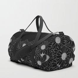 Daisy Boarder Black Duffle Bag