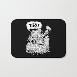 Tiki Carver... Rat Fink Monster Chisler! Bath Mat