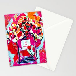 Perfume Pink Stationery Cards