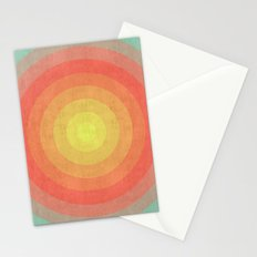 Chromatic circle III Stationery Cards