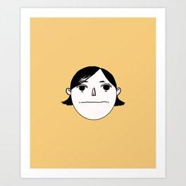 Blank Bobby Art Print