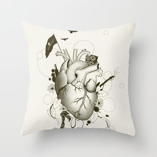 I Love Design Throw Pillow