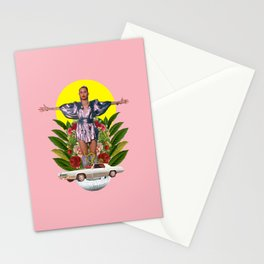 Nothing breaks like a heart Stationery Cards
