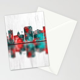 Paterson New Jersey Skyline Stationery Cards