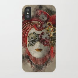 Venetian Mask 1 iPhone Case