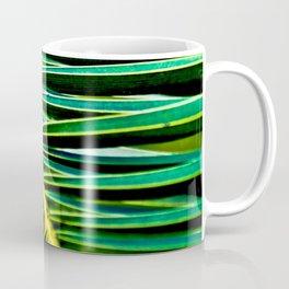 Green Palm Poetry Coffee Mug