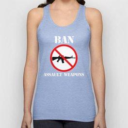 Ban Assault Weapons Gun Control Shirt Unisex Tank Top