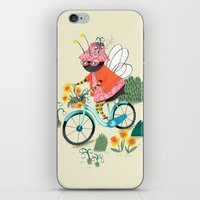 bee iPhone & iPod Skins featuring Bee by ilana exelby