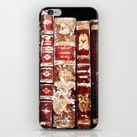 books iPhone & iPod Skins featuring Books by Regan's World