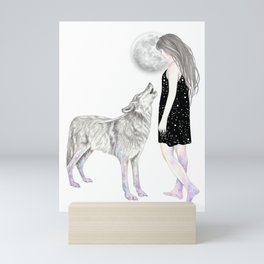 Shining Star Mini Art Print