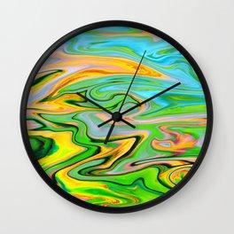 Marbled XIV Wall Clock