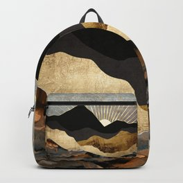 Copper and Gold Mountains Backpack