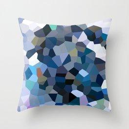 Sky Blue Moon Mountain Dreams Throw Pillow