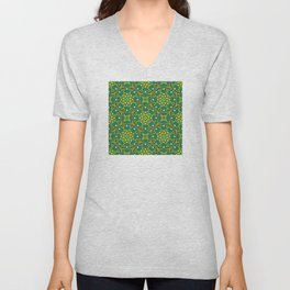 Joyful Ethnic Patterns of Celebration: Version 5 Unisex V-Neck