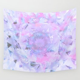 Clouds as Triangles Across the Sunrise Mandala Sky Wall Tapestry
