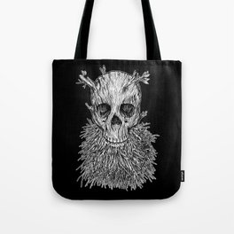 Lumbermancer B/W Tote Bag