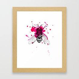 Squashed fly Framed Art Print
