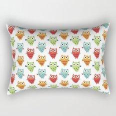 Owl Fun Rectangular Pillow