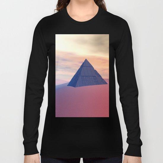 Ancient Pyramid In Desert Long Sleeve T-shirt