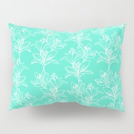 Lily Love in Mint Pillow Sham