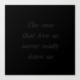 Harry Potter Quote Canvas Print