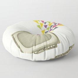 Transmission Floor Pillow