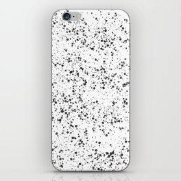 Charcoal pattern iPhone Skin
