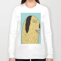 the dude Long Sleeve T-shirts featuring Dude by MALKERM