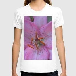 Pink Tiger Lily T-shirt