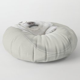 POCKET POLAR BEAR Floor Pillow