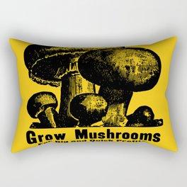 Grow Mushrooms! Rectangular Pillow