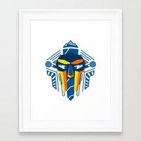 mf doom Framed Art Prints featuring MF Doom Shirt by Argo Vector Art & Design