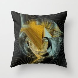 Van Gogh's in Stitches Throw Pillow
