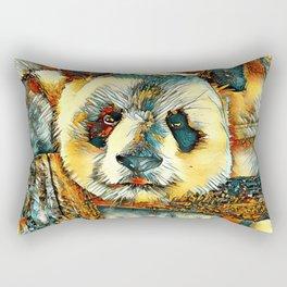 AnimalArt_Panda_20180101_by_JAMColors Rectangular Pillow