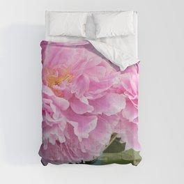 Peony Drama ~ Paint Daubs Comforters