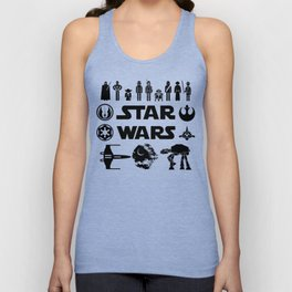 Star Characters Wars Unisex Tank Top