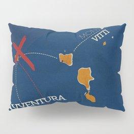 L'avventura, Monica Vitti, Michelangelo Antonioni, italian cinema, film, sea adventures, hollywood Pillow Sham