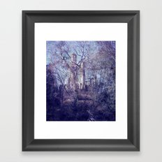 Past 4 Framed Art Print