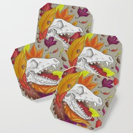 Fox Skull Coaster