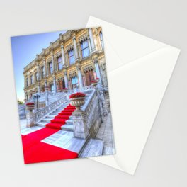 Ciragan Palace Istanbul Red Carpet Stationery Cards