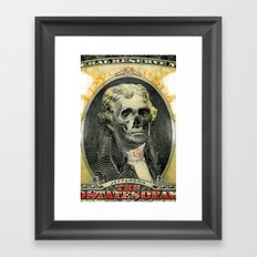 jefferson's iphone  Framed Art Print